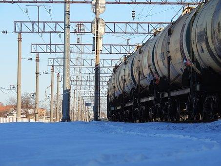 Trains, Rails, Station, Train, Railway, Route