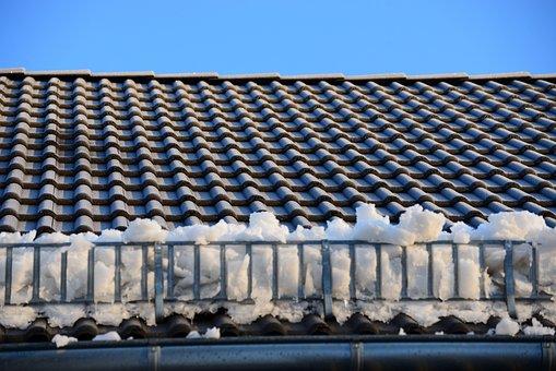Roof, Snow, Snow Guard, Snow Catcher, Ice, Winter