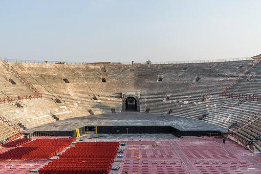 Stadium, Arena, Verona, Italy, Places Of Interest