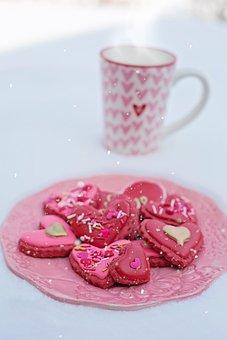 Cookies, Hearts, Treat, Sweet, Dessert, Sugary