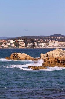 Bandol, Sea, Summer, Holiday, France, Boat, Beach