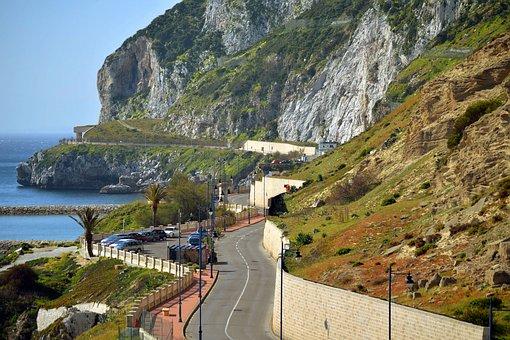 Gibraltar, Europe, Summer, Sunny, Day, Beautiful, Rock