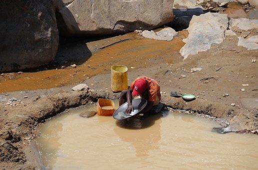 Madagascar, Gold Scrubber, Travel, Heavy Work