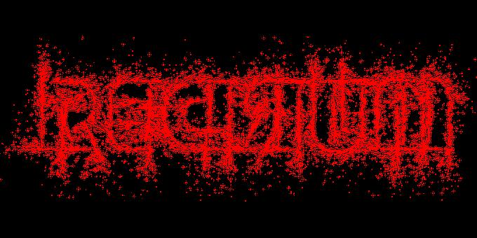 Redrum, Murder, Typography, Backwards, Text