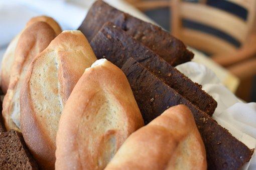 Bread, Bobbin Lace, Tasty, Bake, Bakery, White, French