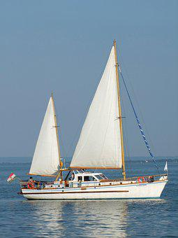 Sailing, Boat, Lake, Water, Sports, Wind, Lake Balaton