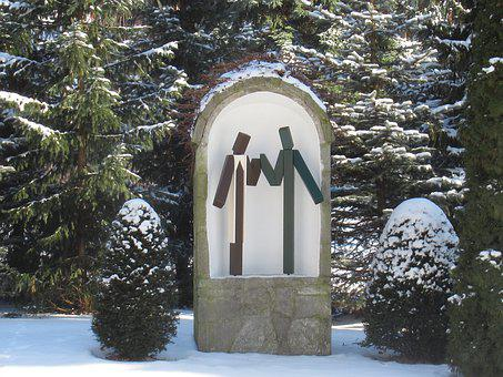 Winter, Sculpture, Keep, Trust, Affection, Help