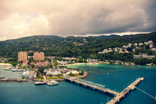 Jamaica, Ocho Rios, Sea, Caribbean