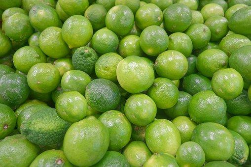 Limes, Citrus, Fruits, Green, Citrus Fruits, Fresh