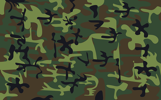 Camouflage, Military, Army, Conflict, Warrior