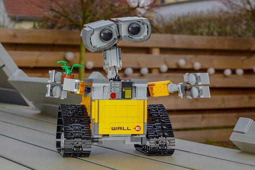 Wall-e, Robot, Lego, Model, Animation, Figure, Cult