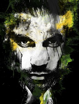 Man, Male, Face, Beard, Head, Portrait, Person
