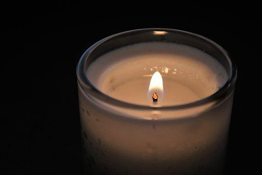 Candle, Death, In Memory, Mourn, Light, Flame, Sympathy