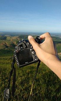 Photo, Camera, Green