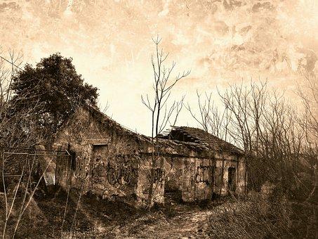 House, Ruin, Abandoned, Old, Horror, Broken, Mystical