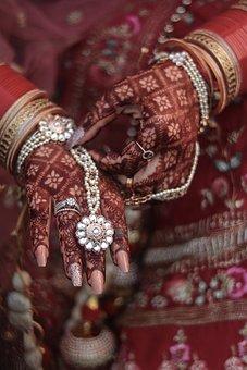 Indian Bride, Mehndi, Henna, Indian, Bride, Bollywood