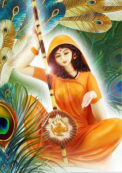 God, Deity, Statue, Krishna, Radhe, Merra Hindu, Lord