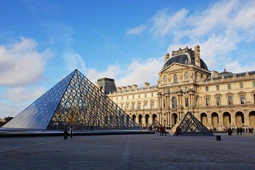 Louvre, Architecture, Buildings, Museum, Landmark