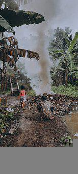 Kids, Low Light, Indonesia