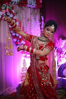 Woman, Bride, Jewellery, Beauty, Gems, Indian, Mehndi