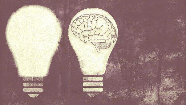 Light Bulb, Brain, Wallpaper, Idea, Mind, Bulb