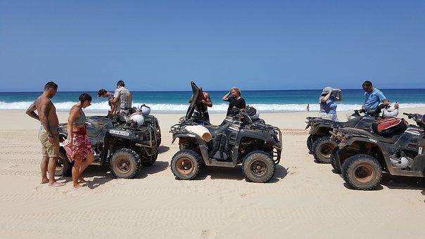 Cape Verde, Boa Vista, St, Monika Beach