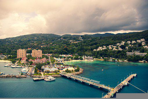 Jamaica, Ocho Rios, Sea, Caribbean, Water, Travel