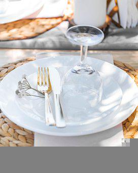 Picnic, Plates, Dinner, Outdoor Plates, Table Setup