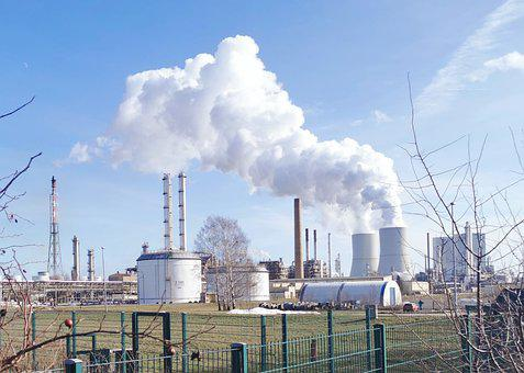 Industry, Power Plant, Pollution