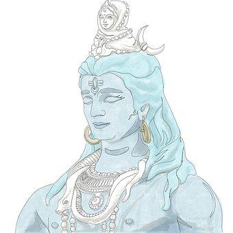 Shiva, Hindu, Hinduism, Religion, India, Indian, Diwali