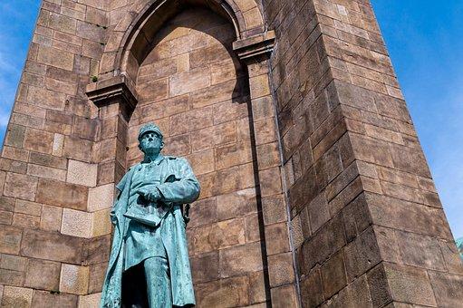 Kaiser-wilhelm Monument, Statue, Sculpture