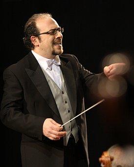 Direttore, Orchestra, Maestro, Conductor, Teatro