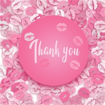 Thank You, Kiss, Mouth, Lips, Lipstick, Love, Sexy
