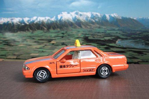 Toy Car, Taxi, Vehicle, Taxi Cab, Car, Auto, Automobile