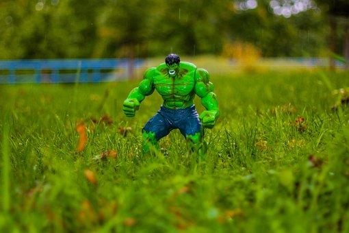 Hulk, Marvel, Avengers, Comic, Toys, Figure, Held
