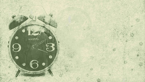 Alarm Clock, Time, Vintage, Wallpaper, Transience