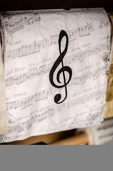 Treble Clef, Music, Notes, Sound, Note, Musical