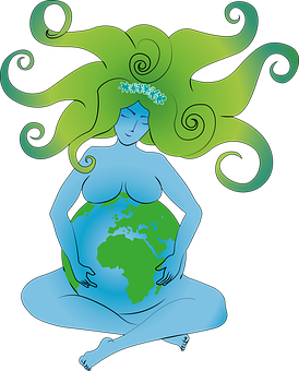 Pachamama, Mother Earth, Earth, Planet, Gaia, Woman