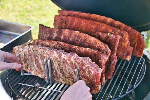 Ribbs, Barbecue, Ribbchen, Barbecue Grill, Smocking