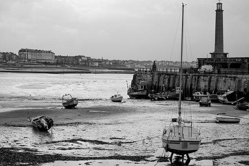 Pier, Harbour, Coast, Sea, Water, Boat, Landscape