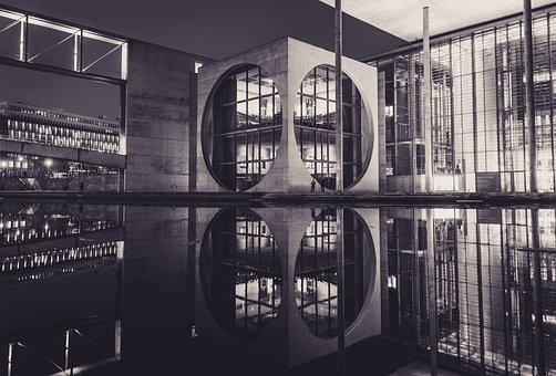 Building, Architecture, Modern, Facade, Mirroring