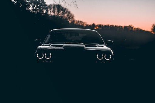 Car, Automotive, Vehicle, Headlights, Transportation