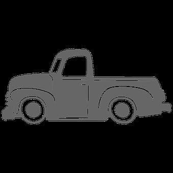 Car, Truck, Pick Up, Vehicle, Transport, Vintage, Old