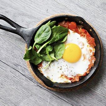 Fried Egg, Food, Pan, Egg Yolk, Egg, Breakfast, Fried