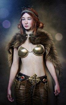 Woman, Warrior, Fighter, Heroine, Pride, Amazone