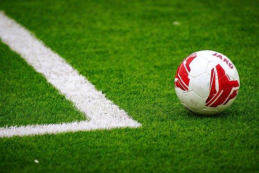 Football, Artificial Grass, Ball, Football Field