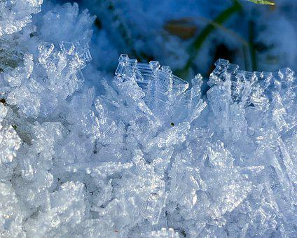Ice, Crystals, Winter, Frost, Frozen