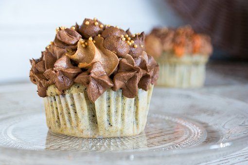 Cupcake, Icing, Frosting, Cake, Sweet, Dessert