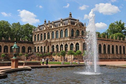 Europe, Germany, Saxony, Dresden, Palace, Residence