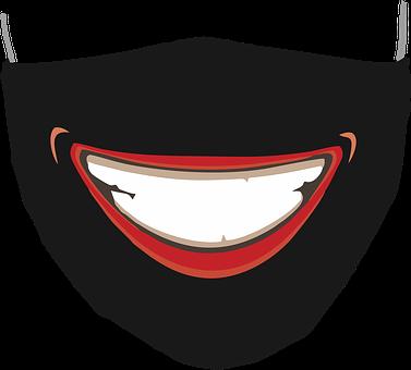 Face Mask, Coronavirus, Hygiene, Smile, Mouth, Covid-19